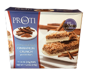 High protein low carb cinnamon crunch bars