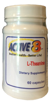 L-Theanine for Calming & Relaxing Brain Activity